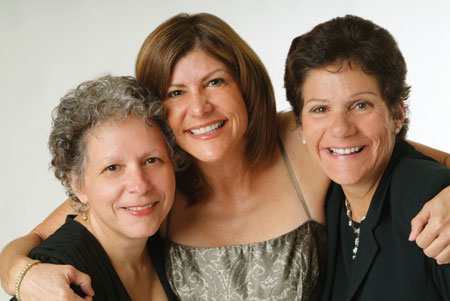 Nancy, Susan, and Kathy