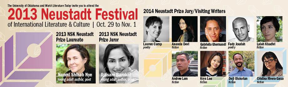 The 2013 Neustadt Festival