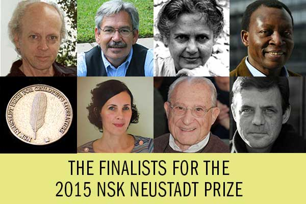 Finalists for the 2015 NSK Neustadt Prize