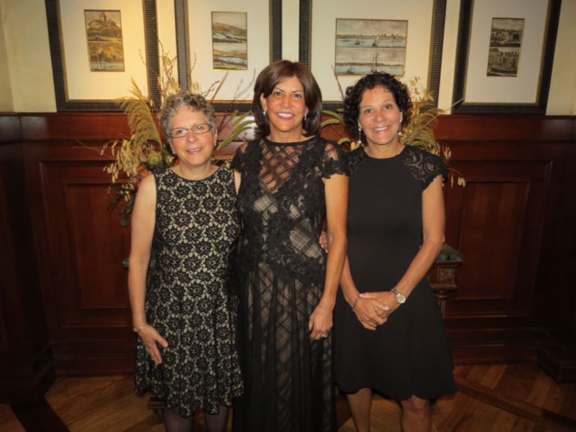 Nancy Barcelo, Susan Neustadt Schwartz, and Kathy Neustadt