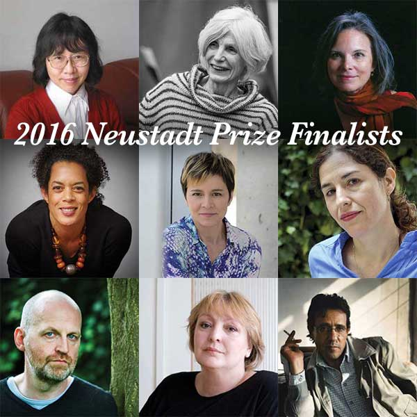The 2016 Neustadt Prize Finalists