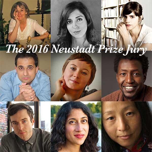 2016 Neustadt Prize Jury